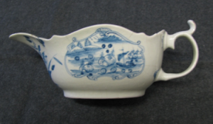 Press Moulded Sauce Boat